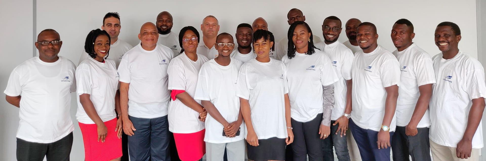 lesaffre nigeria team